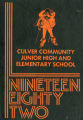 Culver Community Junior High and Elementary School, 1982 yearbook