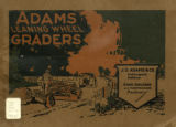 J.D. Adams Leaning Wheel Graders