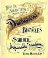 Damascus Bicycle Catalog 1897