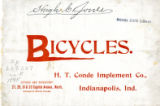 Conde Bicycle Catalog
