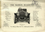 The Marion Roadster with Hassler Transmission and Change Speed Gear : Marion Model Seven