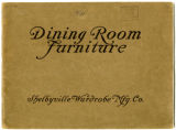 Dining room furniture, Shelbyville Wardrobe Manufacturing Company