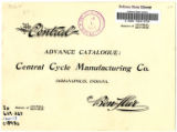 Central Cycle Manufacturing Co. catalog, 1893
