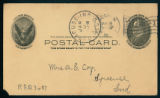 Postcard From Daughter to Mrs. A. E. Coy, 1908