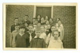 Class Photo of a school in Kosciusko County
