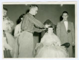 Crowning during an Award Ceremony