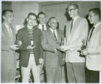 Syracuse High School Sport Awards Given by Lions Club, 1958