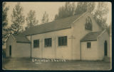 Postcard Image of the All Saints Episcopal Church at Vawter Park