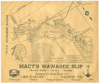 Map of Syracuse by Macy's Wawasee Slip