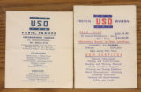 USO Information Packet to American Troops in France