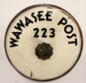 Wawasee American Legion Post 223 Drum