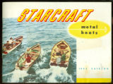 1953 Starcraft Catalog for metal boats cover (photos taken on Lake Wawasee)
