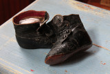 Leather Shoes Worn by Ethel Frances Hoops, 1894