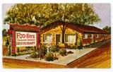 Postcard showing Foo and Faye's Restaurant