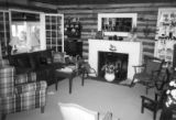 Interior of Wanda Quinn Isenbarger 1800s home, Kale Island, Lake Wawasee