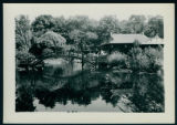 Small Photograph of the Bridge at the Chinese Gardens  in Syracuse, Indiana