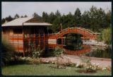 Photograph of the Chinese Gardens, 1957
