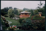 The Pagoda and Gardens at the Chinese Gardens in Syracuse, Indiana