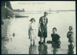 Women and Children Swimming at Lake Wawasee