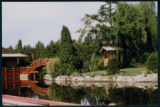 The Bridge and Gardens at the Chinese Gardens, 1957