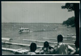 A Group Watching the Wawasee Flotilla