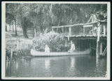 Foot Bridge and Canoe at Willow Grove