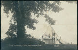 "Postcard Image of the ""Mascot,"" Eli Lilly's First Sailboat"