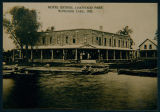 Old Photograph of the Hotel Esther (Oakwood Hotel) From 1909