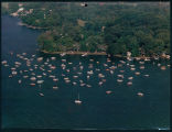 Aerial View of Oakwood Hotel Boat-In