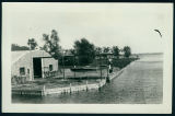 Photograph of Fireproof Building at Wawasee Boat Company