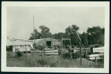 Photograph of the Wawasee Boat Company From Outside of Fence