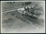 Aerial View of the Wawasee Boat Company