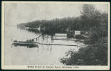 Postcard of the Water Front at Vawter Park