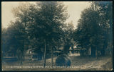 Postcard of Summer Homes at Vawter Park on Lake Wawasee