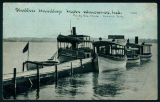 The Wawasee Protective Association's Pier by the Wawasee Train Station
