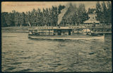 Passenger Steamer in Front of the Vawter Park Hotel