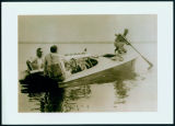 A 1920 Boatride in the Miss Detroit II on Lake Wawasee.