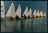 Ice Boat Racing on Lake Wawasee