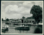 Boys and Girls by the Wawasee Boat Company