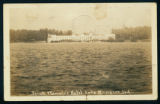 Biddle Postcard of Spink Wawasee Hotel, 1940