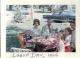 Hirschman and Hazenfield Families on Labor Day 1966