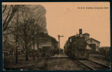 Postcard of the B&O Station in Syracuse, Indiana