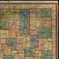 Map of the Northeastern Corner of Indiana, 1919