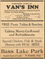 Van's Inn Advertisement