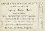 Crystal Roller Rink Ticket