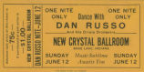 Dan Russo at the new Crystall Ball Room
