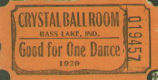 Good for One Dance at the Crytal Ball Room on Bass Lake