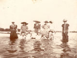 Bathers at Bass Lake