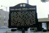 Grand Opera House Historic Marker