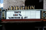 Arlington Theater Marquee